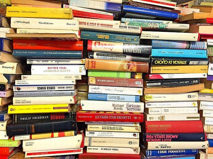 たくさんの参考書